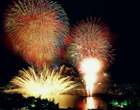 宮島の花火