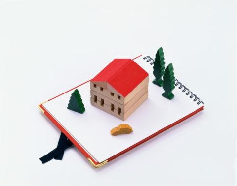 ギフトイメージ赤い屋根の家