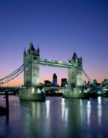 タワーブリッジ夜景