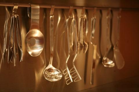 ステンレスの調理器具