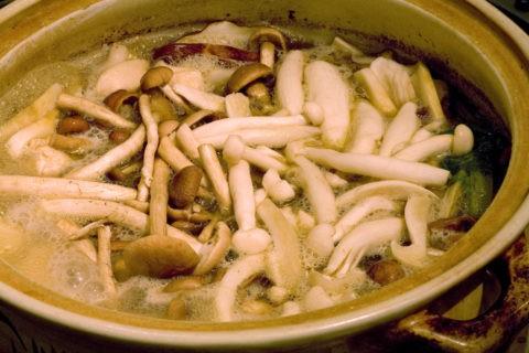 名物きのこ鍋