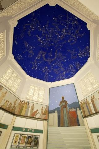 ウルグベク天文台跡 博物館内部 W