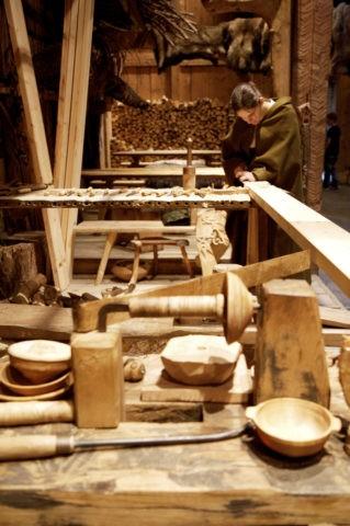 ヴァイキング博物館内部 ボルグ