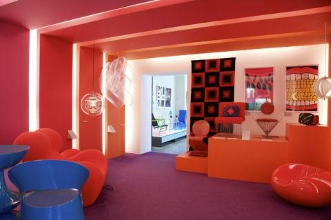 ポップな部屋 デンマーク工芸博物館