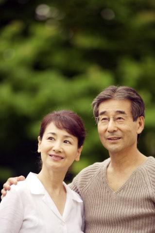 熟年の夫婦