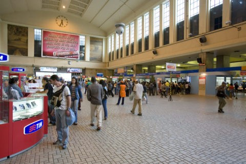 リオ中央駅構内