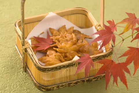 モミジ天ぷら 紅葉 秋 料理
