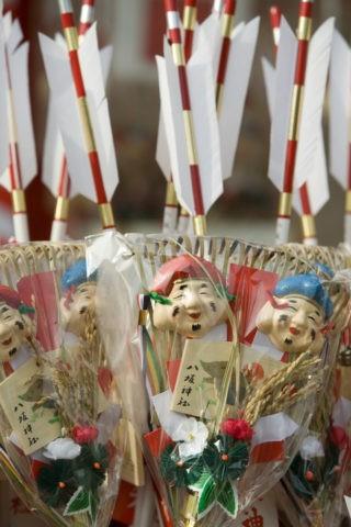 熊手 八坂神社 新春 正月 商売繁盛 縁起物