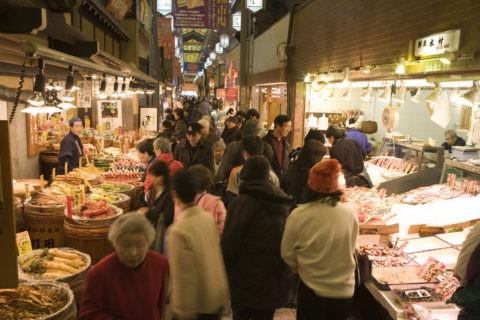 錦市場 市場 年末 師走 正月 買い物 賑わい
