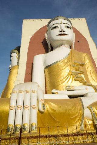 チャイプーンパゴダ 座仏 仏像 仏教