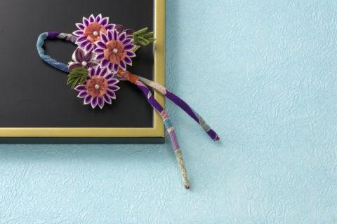 和風 髪飾り 菊