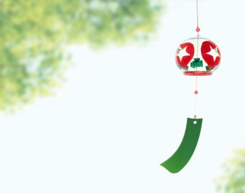 風鈴と緑 CG