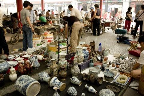 瀋家園古物市場