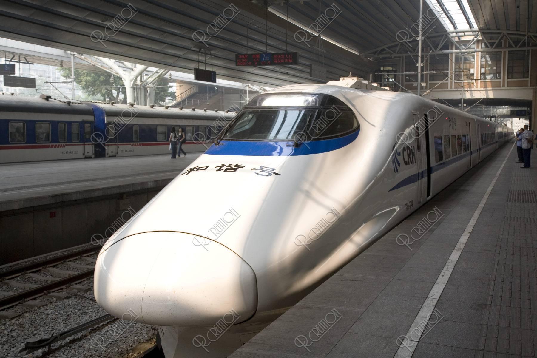 北京駅の新幹線