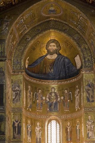 モンレアーレ大聖堂内部 W