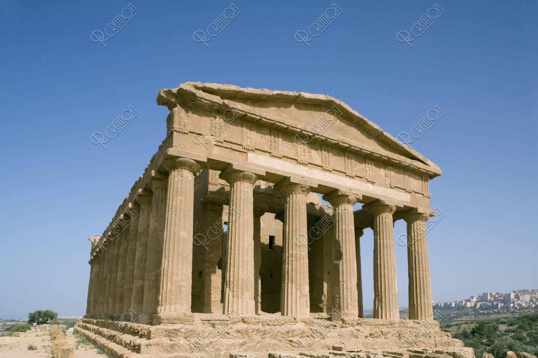 神殿の谷 コンコルディア神殿 W