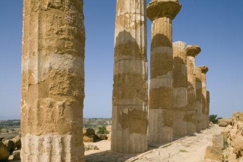神殿の谷 ヘラクレス神殿 W