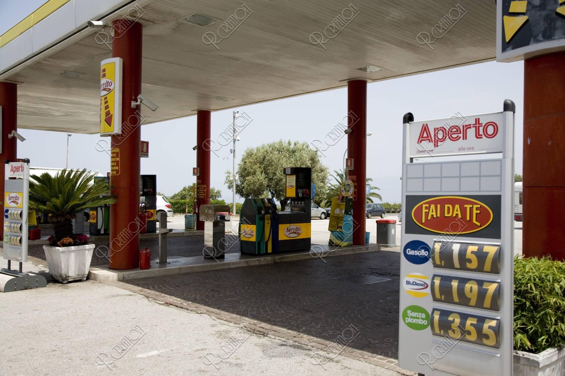 ガソリンスタンドと値段表