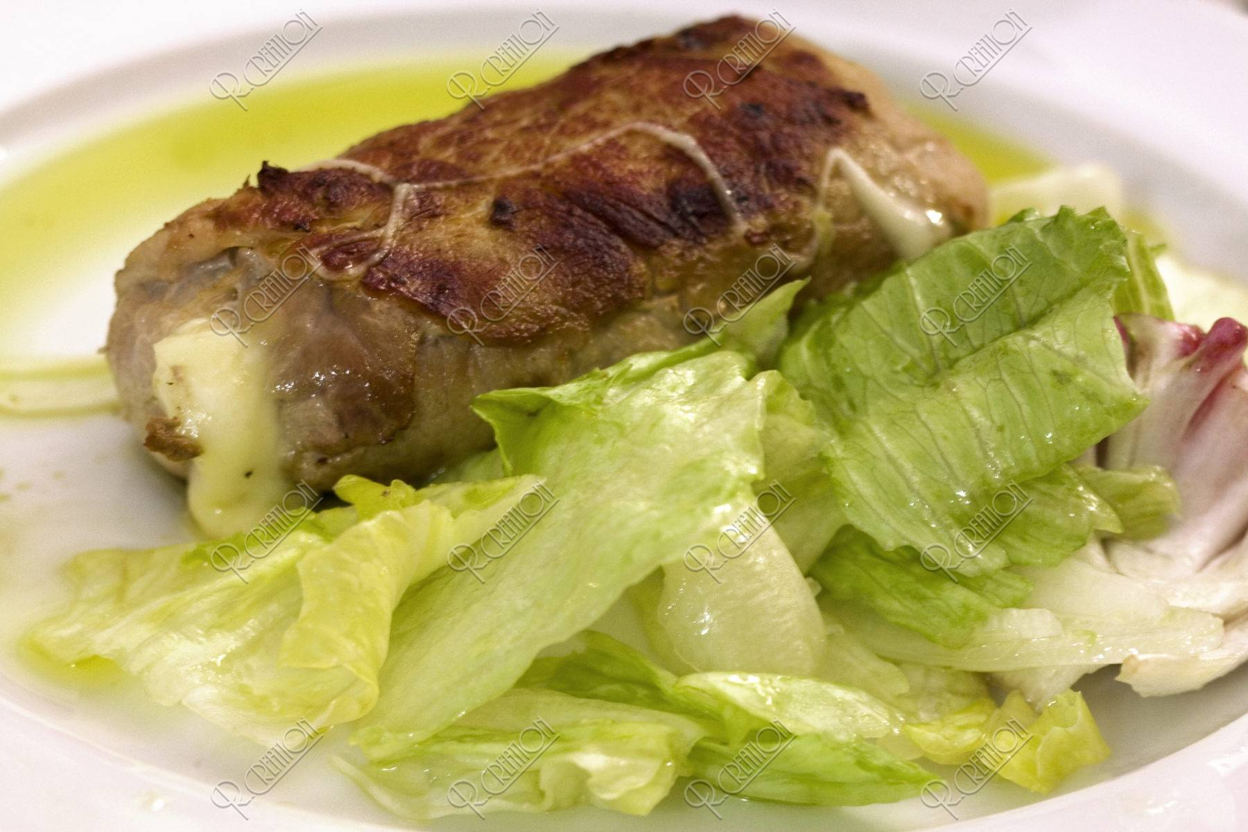 豚肉のロール巻き(カラブリセッラ)