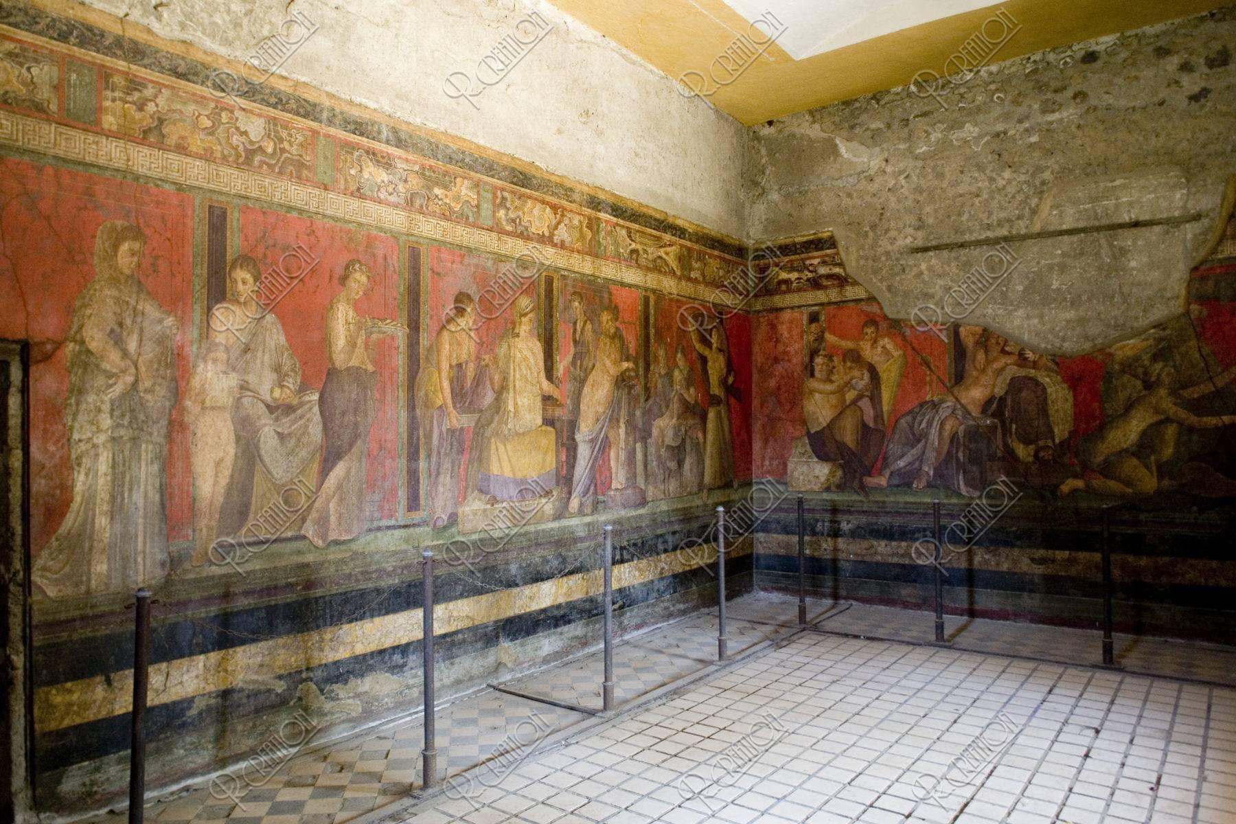 秘儀荘の壁画 W