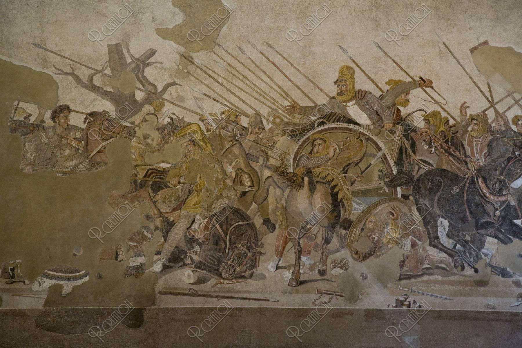 ナポリ考古学博物館内部