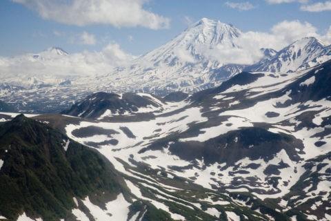 コリャクスキー火山 世界遺産