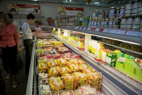 スーパーマーケット ペトロパブロフスクカムチャッキー市