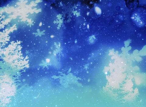 雪の結晶 CG