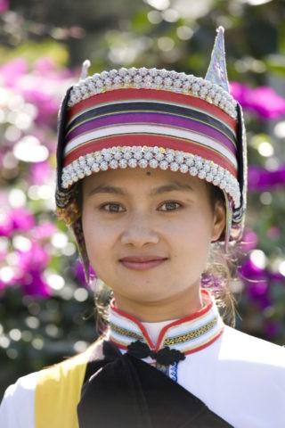 サニ族の女性 石林