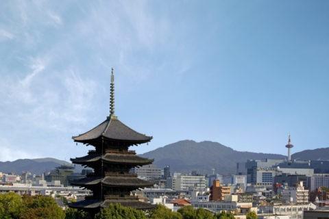 東寺とN700系