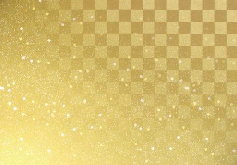 金色の和紙 和風イメージ CG