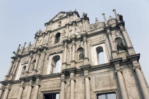 聖ポール天主堂跡 世界遺産