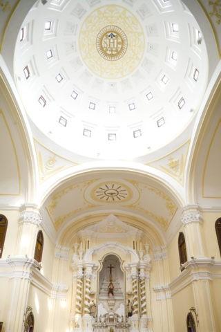 聖ジョセフ修道院聖堂内部 世界遺産