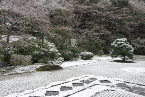 雪の南禅寺天授庵