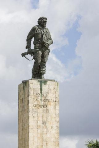 チェ・ゲバラの像