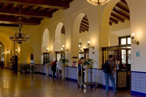 ナショナル・デ・クバホテルのレセプション