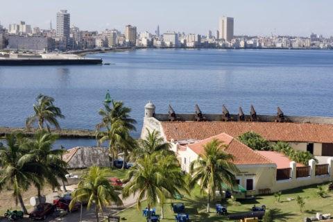 モロ要塞とハバナ市街 世界遺産