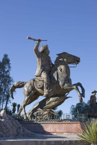 プーファの丘 パンチョ・ビージャの像