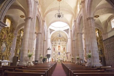 サントドミンゴ教会 内部 世界遺産