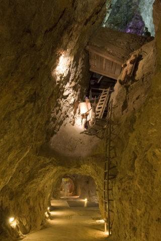 エデン鉱山内部 世界遺産