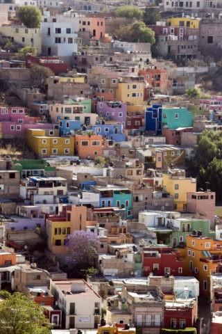 グアナファトの街並み ピピラの丘から 世界遺産