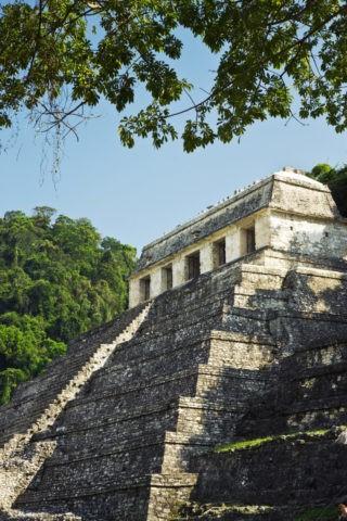 パレンケ遺跡 碑文の神殿 世界遺産
