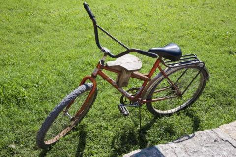 子供座席付き自転車