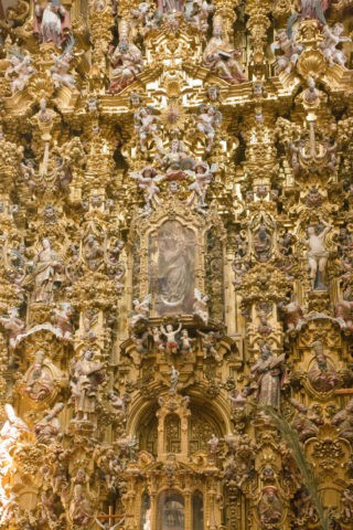 サンタプリスカ教会 内部 世界遺産