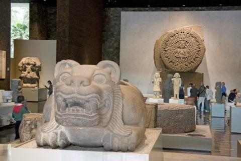 国立人類学博物館 アステカ 世界遺産