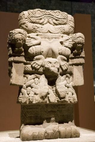 国立人類学博物館 コアトリクエ 世界遺産