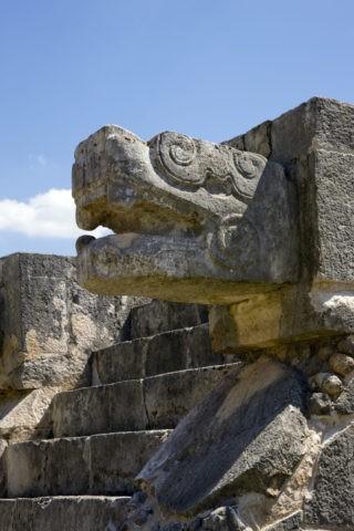 チチェンイッツァ遺跡 ケツァルコアトル 世界遺産