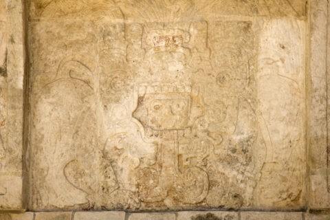 チチェンイッツァ遺跡 金星の台座 レリーフ 世界遺産