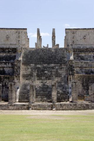 チチェンイッツァ遺跡 戦士の神殿 世界遺産