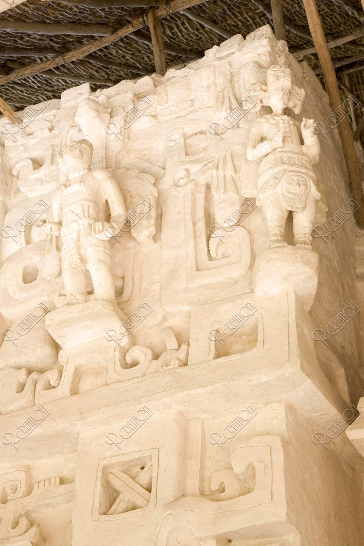 エクバラム遺跡 マヤの天使